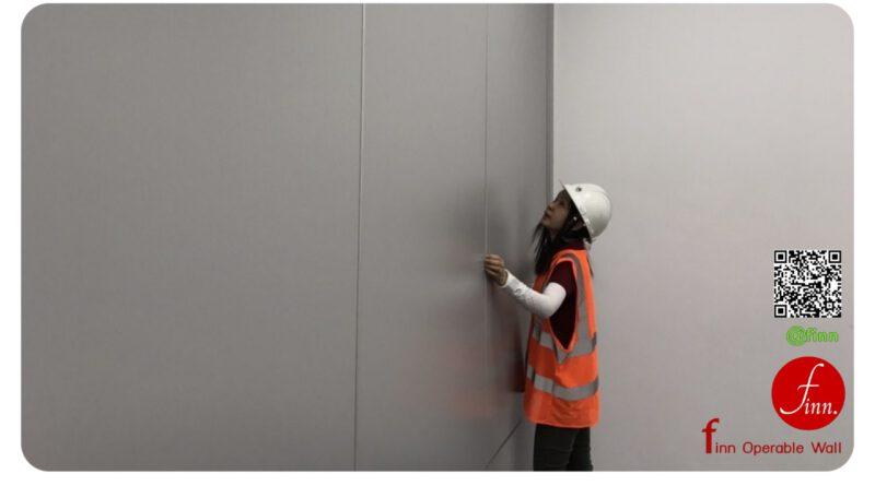 ผนังเลื่อนกั้นห้องประชุม finn ผนังบานเลื่อนกันเสียง แทนการใช้กำแพงผนังถาวร
